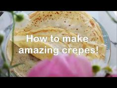 How to make amazing crepes How To Make Crepe, Crepes, Make It Yourself, Amazing, Ethnic Recipes, Food, Diet, Meal, Essen