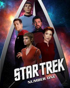 Star Trek first officers