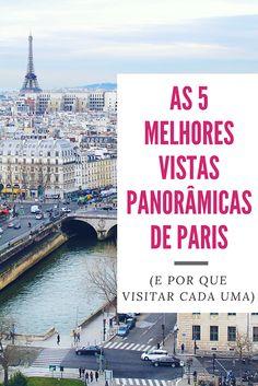 As 5 melhores vistas panorâmicas de Paris - Drawing Dreaming Eurotrip, Paris Travel, France Travel, I Love Paris, Paris Paris, Mont Saint Michel, Where To Go, Travel Around, Travel Inspiration