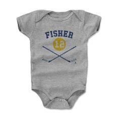 Mike Fisher Sticks B Nashville Officially Licensed NHLPA Onesie 3M-24 Months