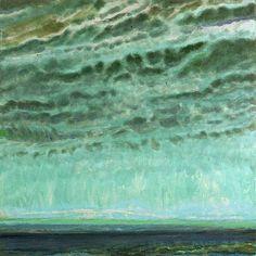 Jane Wilson(American, b.1924) Green Sky in Autumn 2004 Oil on linen