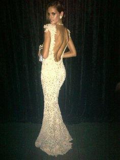 Sparkle cute for a reception dress