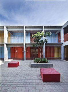 Imagen 3 de 21 de la galería de DPS Kindergarden School / Khosla Associates. Fotografía de Shamanth Patil