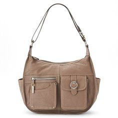 Rosetti Riveting Seams Convertible Hobo Bag,