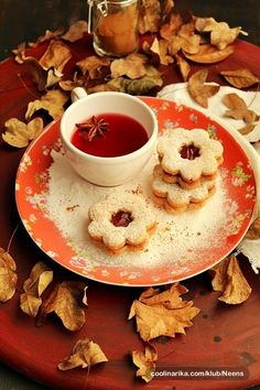 Autumn tea party
