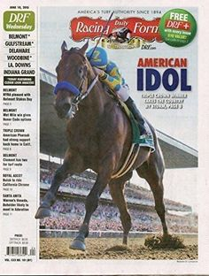 JUNE 10, 2015 DAILY RACING FORM- POST TRIPLE CROWN ISSUE-COVER PHOTO AMERICAN…