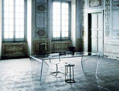 Patrick Norguet designer, Edge Table, Glas Italia, 2010 @patricknorguet