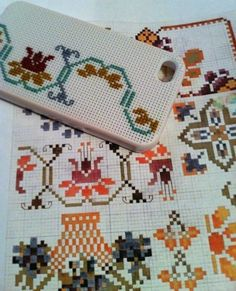 Plastic iPhone cover to cross stitch!