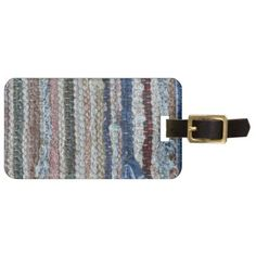 rustic rug texture.JPG Luggage Tag - rustic gifts ideas customize personalize