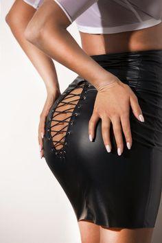 Mesh Tops, Latex Bodysuit, Black Bodysuit, Black Leather Skirts, Faux Leather Skirt, Nun Costume, Matching Outfits Best Friend, Teacher Costumes, Vinyl Dress