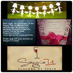 #sangria71 #hillsideave #willistonpark #longsiland #holidays #thanksgiving #tistheseason #begenerous #donate #share #love