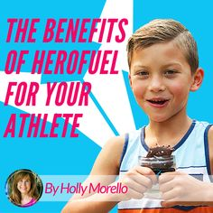 Need a healthy snack for your young athlete?