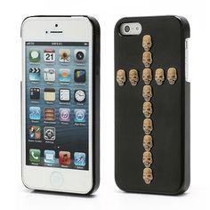 Köp Skal Apple iPhone 5/5S Skull Cross svart online: http://www.phonelife.se/skal-apple-iphone-5-5s-skull-cross-svart