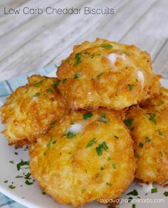 Low Carb Cheddar Biscuits - copycat Red Lobster recipe! Keto, gluten free, and LCHF!