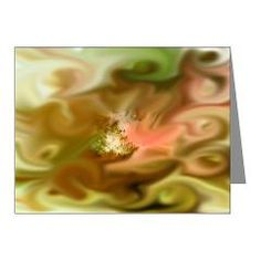 gentle storm yellow BD Note Cards (Pk of 20) > abstract/colorful/fractal > MehrFarbeimLeben