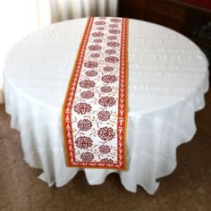 Amazon.com: Table Runner 72 Inch Indian Summer Decor Spring Floral Cotton Washable: Kitchen & Dining