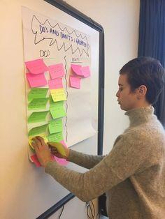 Gode idéer kommer på tavlen!