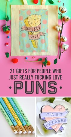 21 Gifts For People Who Just Really Fucking Love Puns