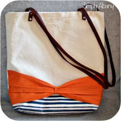 Simply Albany: Simple Bow Tote