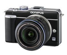 Olympus PEN E-PL1 Systemkamera (13 Megapixel, 6,9 cm (2,7 Zoll) Display, Bildstabilisator) schwarz mit 14-42mm Objektiv schwarz von Olympus, http://www.amazon.de/dp/B0036DE108/ref=cm_sw_r_pi_dp_kib-rb1W74S0N