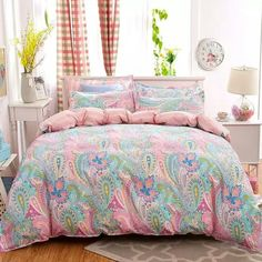Beautiful Bohemian Bedding Set Soft Polyester Bed Linen Duvet Cover And Pillowcases Bed Sheet Sets. Home Textile Queen Full Cover. Bed Sets, Bed Linen Sets, Linen Duvet, Bed Sheet Sets, Bohemian Bedding Sets, Luxury Bedding Sets, Modern Bed Sheets, Plaid Bedding, Floral Bedding
