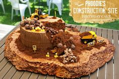 Construction Birthday Cake | The WHOot