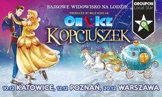 """Oferta: Bilet na bajkowe widowisko """"Kopciuszek ON ICE"""" od 29,90 zł ( rabat do -40%)  , w Wiele lokalizacji. Cena: 29,9zł"""