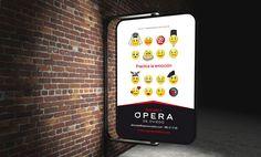 Campaña creativa para Opera Oviedo 2015 por Impact 5 Electronics, Phone, Oviedo, Creativity, Projects, Telephone, Mobile Phones, Consumer Electronics
