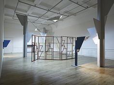 Martin Boyce Martin Boyce - Electric Trees and Telephone Booth Conversations - 2006 Telephone Booth, Exhibition Display, Conceptual Art, Modern Art, Sculptures, Electric, Trees, Artwork, Dividers