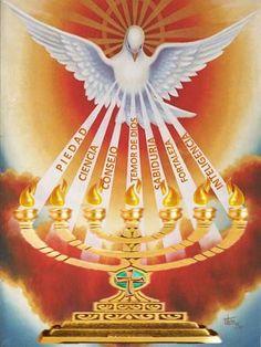 135 Good Pentecost Craft & Decorations Photo Ideas - Page Image Jesus, Première Communion, Pictures Of Jesus Christ, Saint Esprit, Holy Rosary, Prophetic Art, Eucharist, Kirchen, Religious Art
