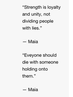 Quotes from Maia in City of Heavenly Fire!!!!