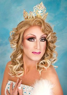 """Trixie LaRue ~ Miss Gay Midwest America 2010 // """"Where boys are boys . . . . and female impersonation is an art!"""""""