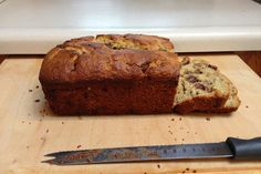 Honey Whole Grain Einkorn Banana Bread