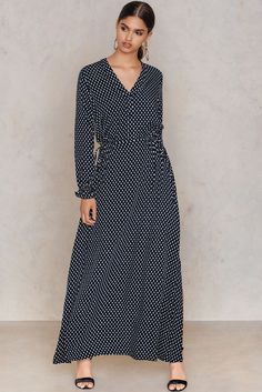 Nitzia Dress Dark Blue