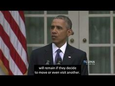 2015, June 26 – President Obama – America should be very proud – open captioned – The Closed Captioning Project LLC, sponsored by Accurate Secretarial LLC