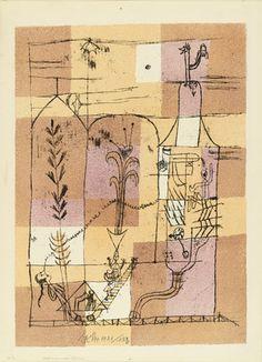 Paul Klee. Hoffmannesque Scene (Hoffmanneske Szene) from the portfolio New European Graphics, 1st Portfolio: Masters of the State Bauhaus, Weimar (Neue europäische Graphik, 1. Mappe: Meister des Staatlichen Bauhauses in Weimar), 1921. 1921