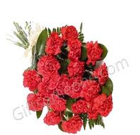 Price:Rs.435.00 / $7.83 Shipping ChargesFree Shiping To India(IND) Product DetailsBunch of 12 Red Carnations http://www.giftsomeone.com/12-carnation/product_info.php/products_id/3128
