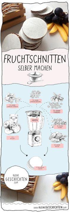 Leckere Fruchtschnitten für Kinder selber machen ! Schnell und einfach. Super Snack für zwischendurch. Früchteriegel für Kinder selber machen.