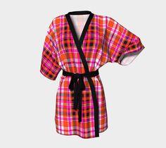 "Kimono+Robe+""TARTAN+9002""+by+THE+GRIFFIN+PASSANT+STREETWEAR"