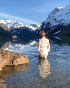 Stylish Gown, Luxury Girl, Baby Animals Pictures, Natural Phenomena, Amazing Nature, Trip Planning, Norway, Las Vegas, Places To Go
