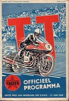 1959 Bike Poster, Motorcycle Posters, Motorcycle Art, F1 Posters, Art Deco Posters, Poster Prints, Retro Bike, Vintage Motorcycles, Vintage Racing