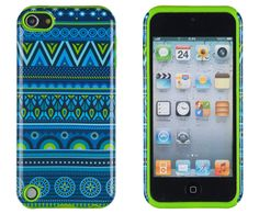 iPod Touch 5 - Vibrant Dual Layer Multi- Color Silicone Case in Assorted Colors