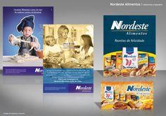 Nordeste Alimentos - Anúncios + Banners