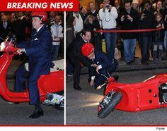 Regis Philbin kills it  Modern Vespa : Celebrity Scooters