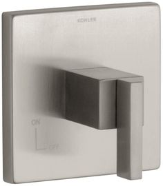Kohler K-T14674-4 Single Handle Volume Control Trim Only with Metal Lever Handle
