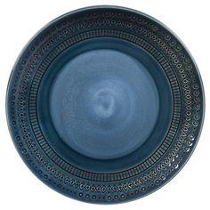 Kingsland 10.5in Dinner Plate Set of 4 Blue - Threshold™ : Target