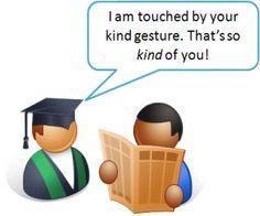 """Savoir remercier-anglais - français - """" Votre geste me touche beaucoup. C'est si gentil à vous! """" ( I'am touched by ....)"""
