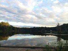 landscape, reflection