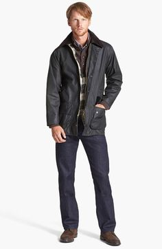 Barbour 'Beaufort' Waxed Cotton Jacket   Nordstrom