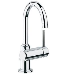 Atrio Single Handle Single Hole Bathroom Faucet